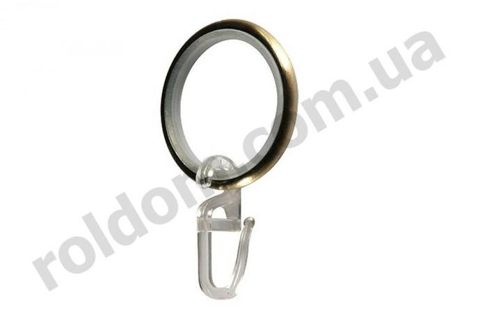 Крючок на кольцо для кованого карниза 16 мм
