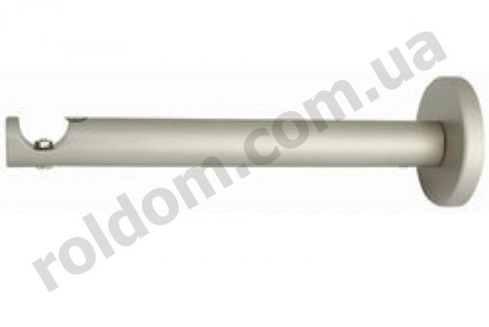 Кронштейн одинарный профильный для кованого карниза 19 мм