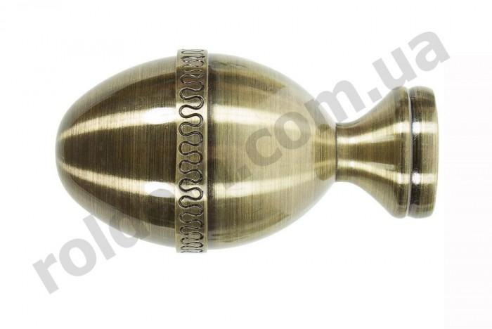 Наконечник для кованого карниза Фарже 25 мм