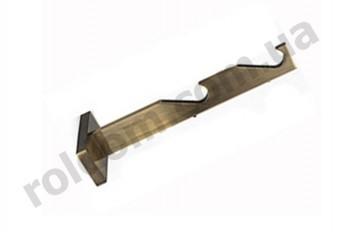 Кронштейн двойной Slim для кованого карниза 19 мм