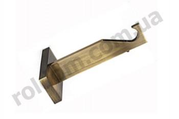 Кронштейн одинарный Slim для кованого карниза 19 мм