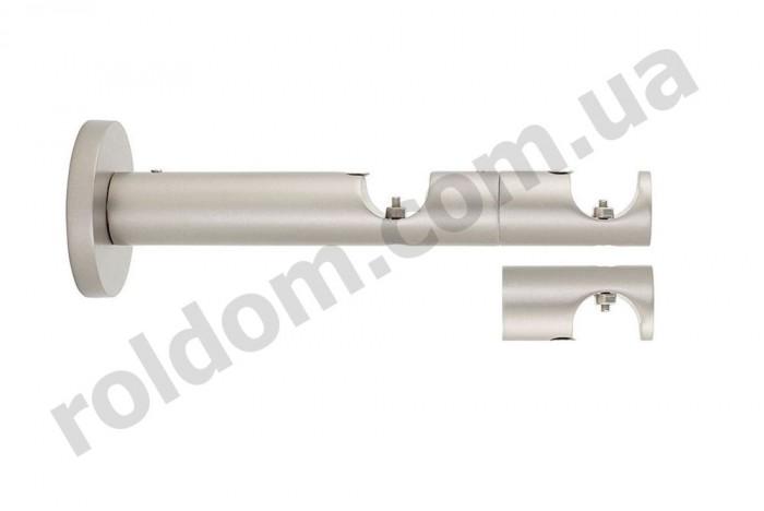 Кронштейн двойной профильный для кованого карниза 16 мм