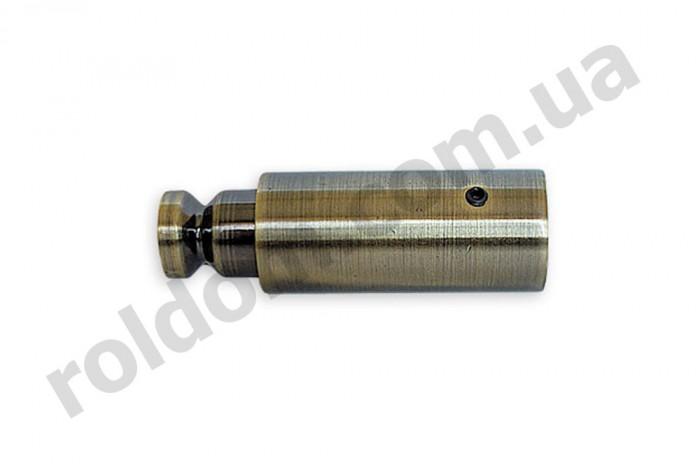 Удлинитель кронштейна профильного для кованого карниза 25 мм